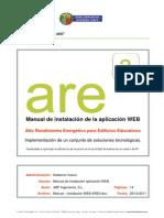 Manual Instalacion WEB ARE3