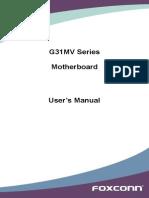 G31MV Series Manual en v1.0