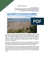 A degradacao do lago Titicaca