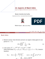 Blackhole Notes