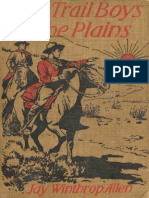 The Trail Boys on the Plains by Jay Winthrop Allen