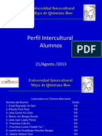 Perfil Intercultural 2013 21 de Agosto