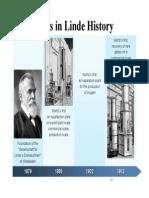 Linde - LBPP History