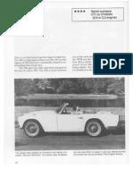 TR4 Triumph Buyers Guide