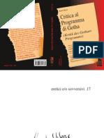 Karl Marx, Critica del programma di Gotha, traduzione e cura di Giovanni Sgro'