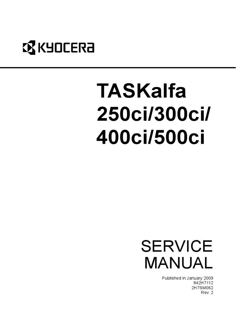 250ci_300ci_400ci_500ci_SM_ENG_Rev2 | Image Scanner | Electrical Connector