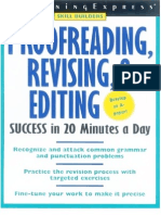 Learning Express Proofreading Revising & Editing Skills Success - 205p