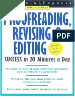 Learning Express Proofreading Revising & Editing Skills Success - 205p