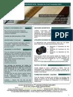 Bulletin d'annonces N°82 Semaine du 2 au 9 novembre 2013