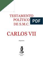 Testamento de S.M.C. Carlos VII