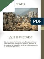 Sismos y Tsunamis