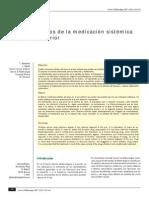 Efectos Adversos Medicacion Sistemica en Polo Anterior