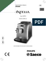 manuel machine a café