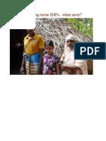 Sri Lanka's long-term IDPs - what next