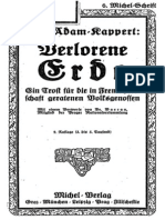 Adam-Kappert, Karl - Verlorene Erde (1921)