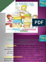 DERECHOS Y OBLIGACIONES DEL NIÑO(A) EN BOLIVIA