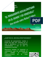 SOCIALCRISTIANISMO VENEZOLANO