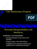 Unit Maintenance Program.ppt