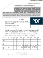 Correlation Technology Platform Application Configuration Estimator Form