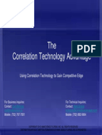 Using Correlation Technology to Gain Competitive Edge