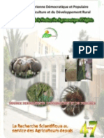 Brochure de présentation INRAA 2013