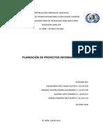 Planeación de Proyectos Informáticos