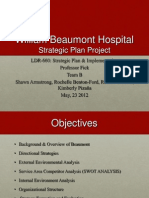wbh strategic plan project