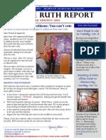 November Ruth Report 2013