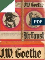 Urfaust- J. W. Goethe