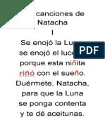Las Canciones de Natacha