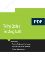 Telling Stories, Teaching Math