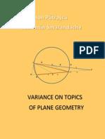 Variance on Topics of Plane Geometry