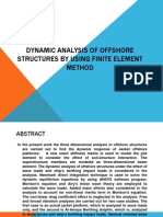 dynamic analysis of offshore structures by using Finite Element method.pptx