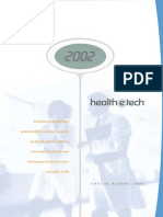 Health E Tech 2002 Annual Report