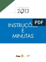 Instrucoes e Minutas_FORMACAO