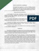 Narconon SH Wickstrom lawsuit Escrow and Security Agree Men Exhibit 01