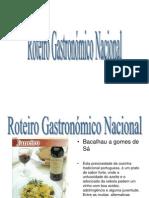 Roteiro Gastronomico