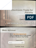 electronic tools for faculty