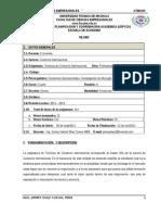 Silabo de Tecnicas de Comercio Internacional 2011