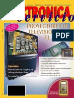 Electronica y Servicio N°16 Proyectores de television para el hogr