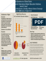Digital Libraries and the Internationalization of Higher Education Poster