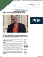 (Ain _ Le maire de Jujurieux, Jean Chabry, placé en garde à vue après un accident - Le Progrès)