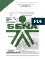 Programa Tgo Direccion de Ventas Cod. 621111