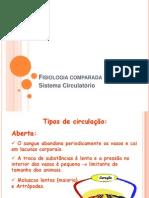 Fisiologia comparada - circulação S.19