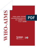 Who-Aims Salud Mental 2013