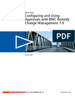 Configuring and Using Approvals with BMC Change Management 7.0