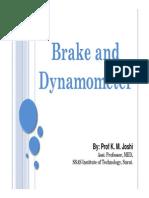 brake and dynamometer