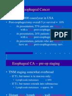 carcinoma esophagus