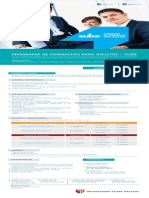 PROGRAMA DE FORMACIÓN PARA ADULTOS - INFORMES