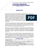 El discurso anarquista. Dos aplicaciones metodológicas - Ángel Olmedo Alonso